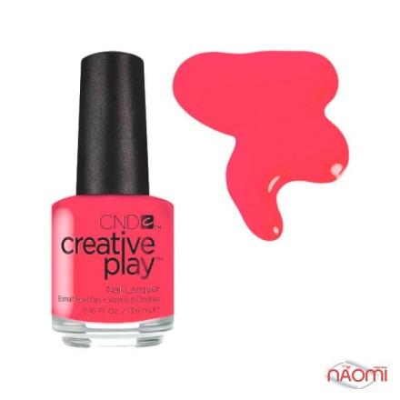 Лак CND Creative Play 410 Coral Me Later, оранжево-розовый, 13,6 мл, фото 1, 129.00 грн.