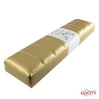 Подлокотник для рук Rainbow Store Премиум настольный прямой 42х10,5х4,5 см, цвет золото