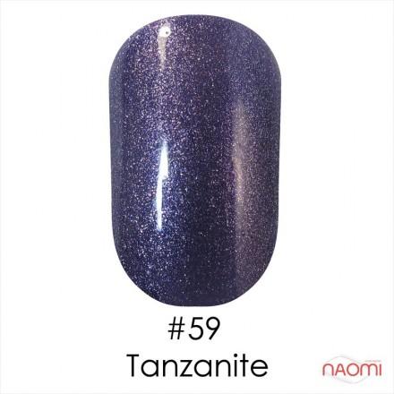 Гель-лак Naomi Gel Polish  59 - Tanzanite, 12 мл, фото 1, 155.00 грн.