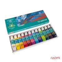 Набор акриловых красок для дизайна ногтей Global Fashion, 12 цветов  6 мл