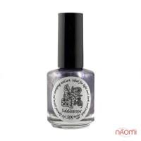 Краска для стемпинга EL Corazon - Kaleidoscope с зеркал.№ st-309 Restless night/фиолетовый 15 мл