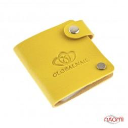 Чохол для 24 дисків GlobalNail, жовтий