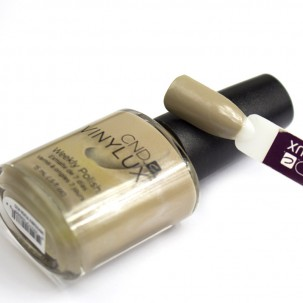 Лак CND Vinylux Weekly Polish 123 Impossibly Plush темный беж, 15 мл