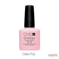 CND Shellac Cake Pop нежный розовый с лиловым оттенком, 7,3 мл