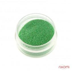 Декор для ногтей в баночке Starlet Professional (b) Песок, цвет зелёный