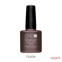 CND Shellac Rubble светлый коричневый с серым оттенком, 7,3 мл