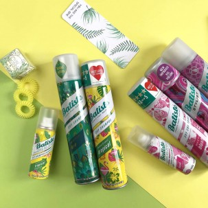 Сухий шампунь для волосся - Batiste Dry Shampoo, Tropical Coconut&exotic, 200 мл