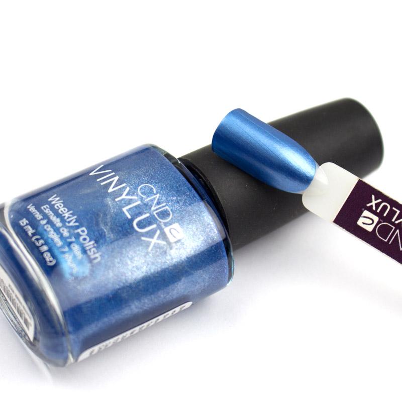 Лак CND Vinylux Weekly Polish 157 Water Park яркий перламутрово-синий, 15 мл, фото 2, 149.00 грн.
