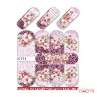 Слайдер-дизайн N 771 Цветы