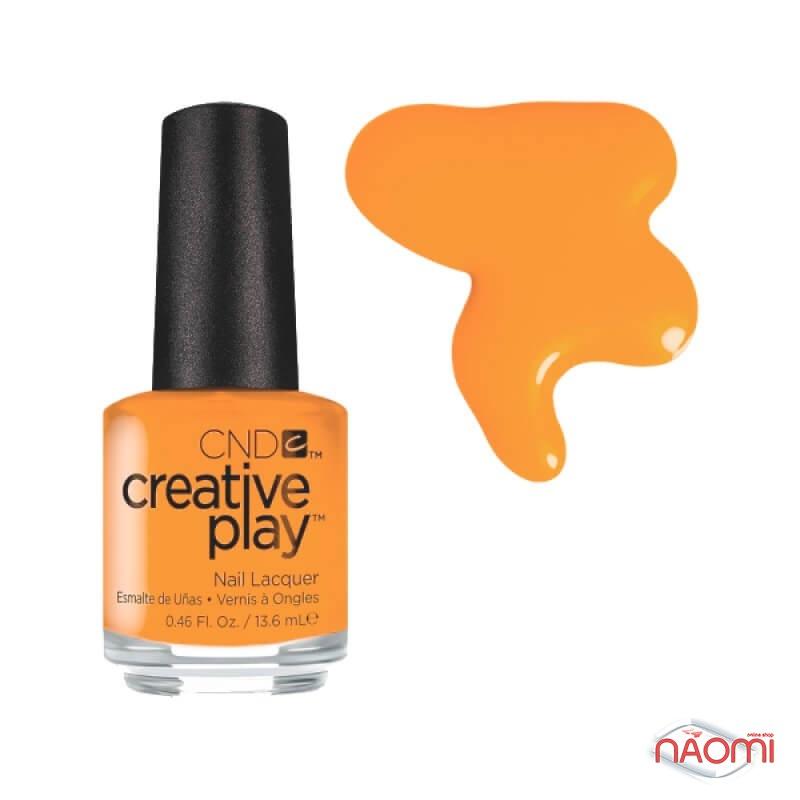 Лак CND Creative Play 424 Apricot In The Act, помаранчевий, 13,6 мл, фото 1, 129.00 грн.