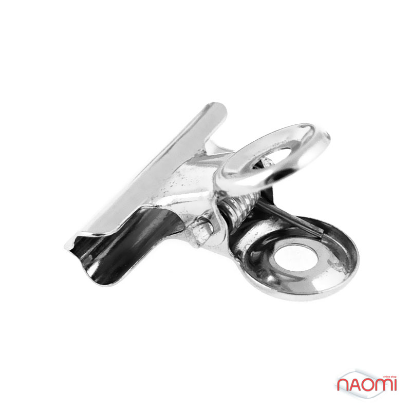 Прищепка для зажима ногтей (металлическая, большая)***, фото 1, 8.00 грн.