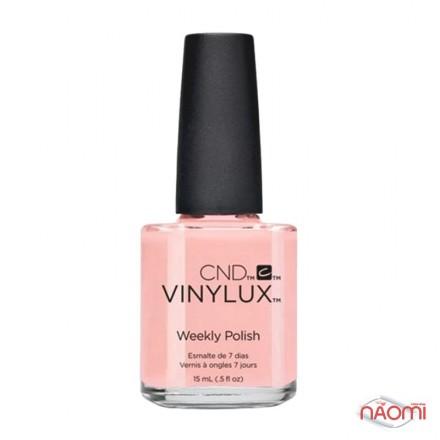 Лак CND Vinylux Flirtation 214 Be Demure, розовый, 15 мл, фото 1, 139.00 грн.