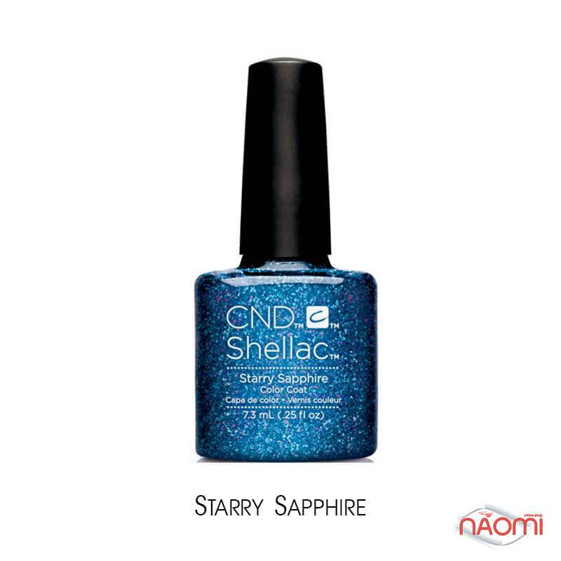 CND Shellac Starry Sapphire, 7,3 мл, фото 1, 339.00 грн.