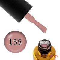 Гель-лак F.O.X Pigment 155 кавово-рожевий, 6 мл