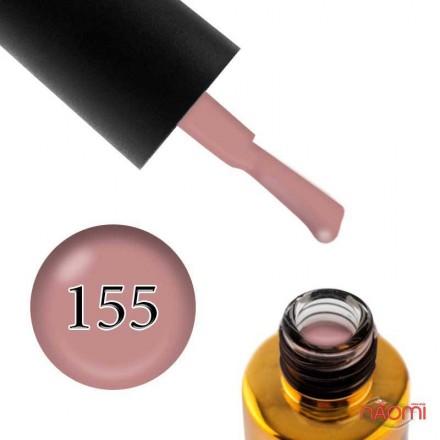 Гель-лак F.O.X Pigment 155 кофейно-розовый, эмалевый, 6 мл, фото 1, 105.00 грн.