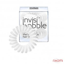 Резинка-браслет для волосся Invisibobble ORIGINAL, колір білий, 30х16 мм, 3 шт.