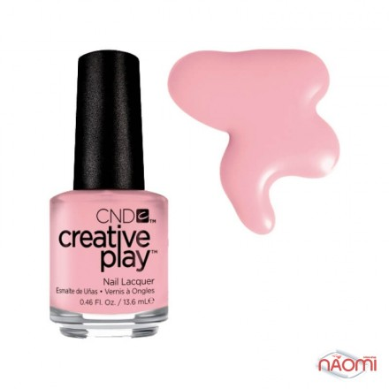 Лак CND Creative Play 406 Blush On U, розовый, 13,6 мл, фото 1, 119.00 грн.