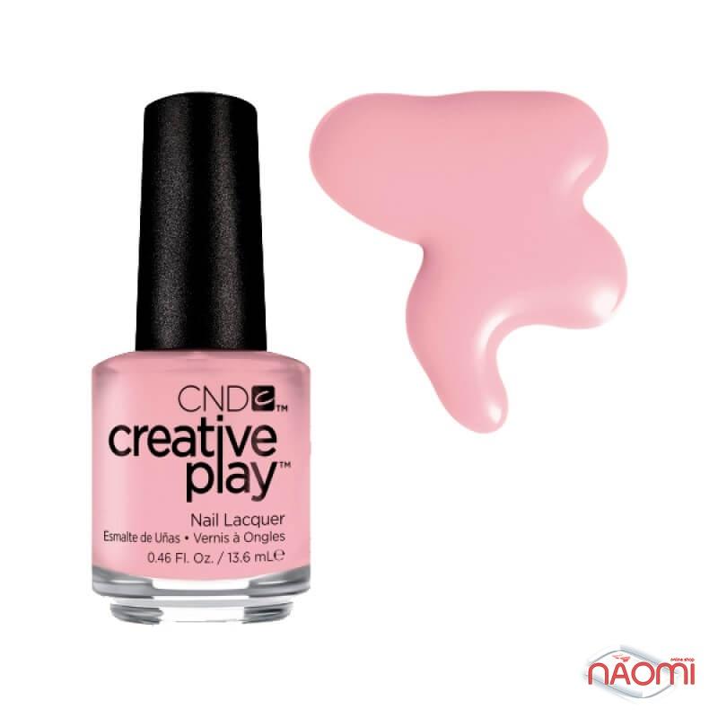 Лак CND Creative Play 406 Blush On U, розовый, 13,6 мл, фото 1, 129.00 грн.