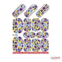 Слайдер-дизайн N 282 Цветы