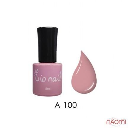 Гель лак BioNail A 100 Baby Pink нежно-розовый, эмалевый, 8 мл, фото 1, 194.00 грн.