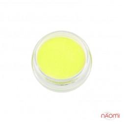 Акриловая пудра My Nail № 099, цвет лимонный неон, 2 г