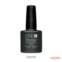 CND Shellac Asphalt темно-серый мокрый асфальт, 7,3 мл