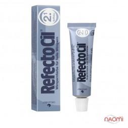 Краска для бровей и ресниц RefectoCil №2.1 Deep Blue,  цвет темно-синий, 15 мл