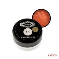 3D Гель-пластилин KOTO 10 оранжевый, 5 г