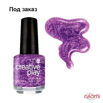 Лак CND Creative Play 455 Miss Purplelarity, фиолетовый, 13,6 мл, фото 1, 119.00 грн.