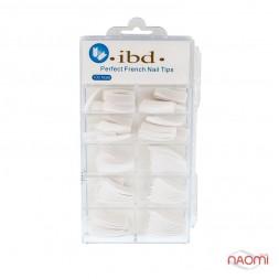 Типсы Ibd для наращивания ногтей 100 шт, белые