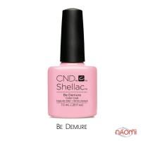 CND Shellac Flirtation Be Demure розовый, 7,3 мл