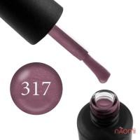Гель-лак My Nail 317 дымчатый розово-сливовый, с шиммерами, 9 мл