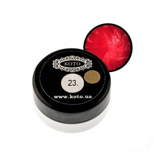 3D Гель-пластилін KOTO 23 червоний, 5 г, фото 1, 89.00 грн.