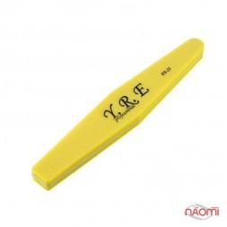 Шлифовщик для ногтей YRE PA 25, 100/100, ромб, цвет желтый