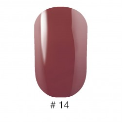 Лак Naomi VINYTONE 14 теплый коричнево-лиловый, 12 мл