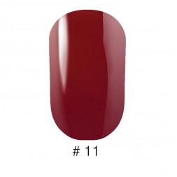 Лак Naomi VINYTONE 11 глубокий коричневый с едва уловимыми красными нотками, 12 мл
