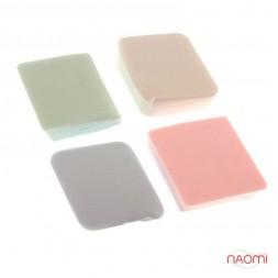 Набір спонжів для макіяжу C-06, ромб, 4 шт.
