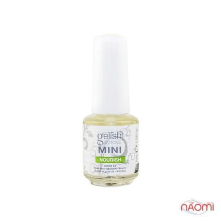 Олійка для нігтів та кутикули Gelish Mini Nourish Cuticle Oil, 9 мл, фото 1, 110.00 грн.