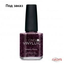 Лак CND Vinylux Weekly Polish 175 Plum Paisley баклажановый, с шиммерами, 15 мл