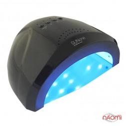УФ LED лампа светодиодная Sun One 48 Вт и 24 Вт, таймер 5, 30 и 60 сек, цвет черный
