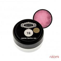 3D Гель-пластилин KOTO 19 светло-розовый, 5 г