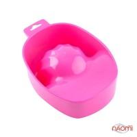 Ванночка для маникюра, цвет розовый