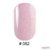 Гель-лак G.La color 082 розово-сиреневый с шиммерами, 10 мл