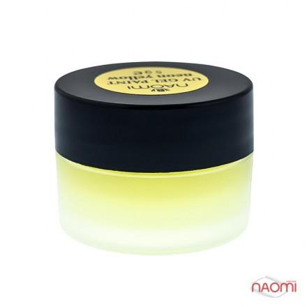 Гель-краска Naomi UV Gel Paint Neon Yellow 5 г, фото 1, 85.00 грн.