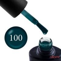 Гель-лак NUB 100 Street Couture зеленая морская волна, 8 мл