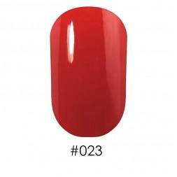 Лак Naomi 023 оранжево-красный, 12 мл