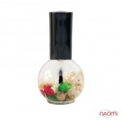 Олійка для кутикули Naomi квіткова, Лілія, 15 мл