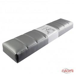 Подлокотник для рук Rainbow Store Премиум настольный прямой 42х10,5х4,5 см, цвет серебро