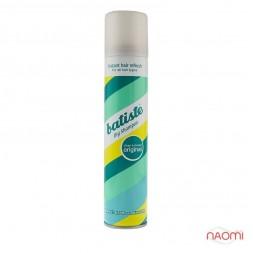 Сухий шампунь для волосся - Batiste Dry Shampoo, Clean and Classic Original, 200 мл