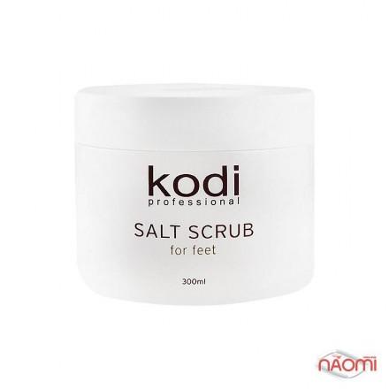 Скраб солевой для ног Kodi, 300 мл, фото 1, 195.00 грн.